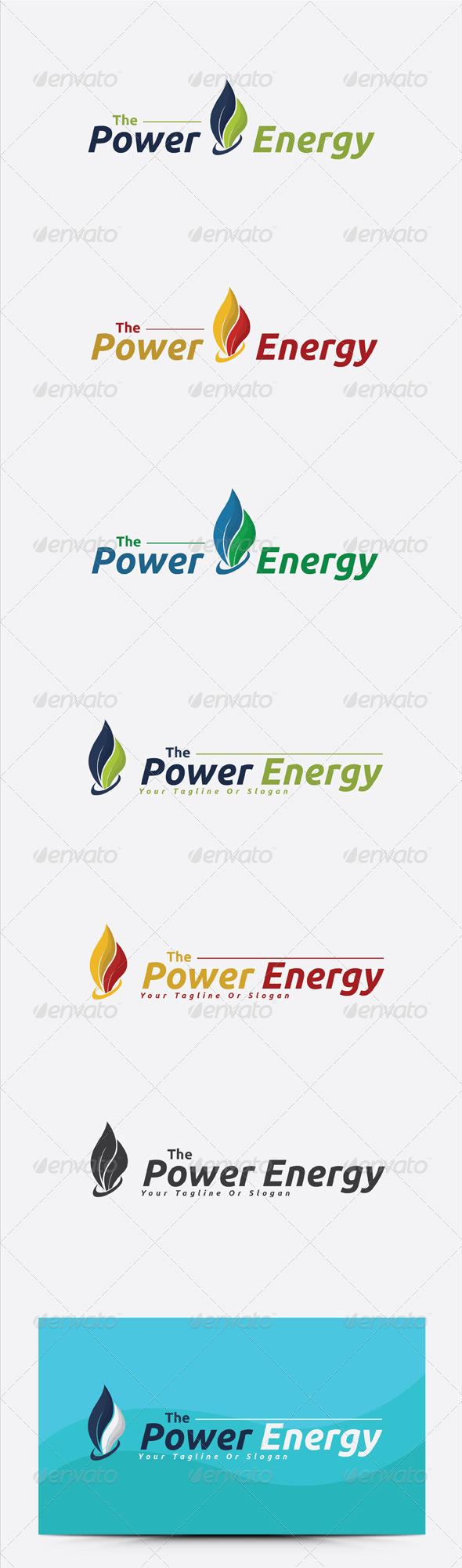GraphicRiver Power Energy Logo Template 6375996