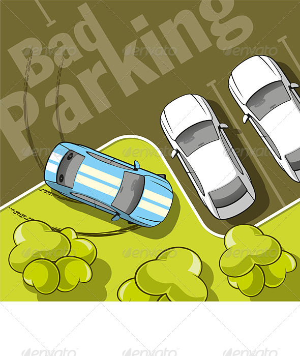 GraphicRiver Bad Parking 6376180