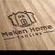 Makan Home Logo - GraphicRiver Item for Sale