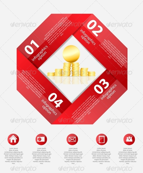 GraphicRiver Infographic Business Template Vector Illustration 6376206