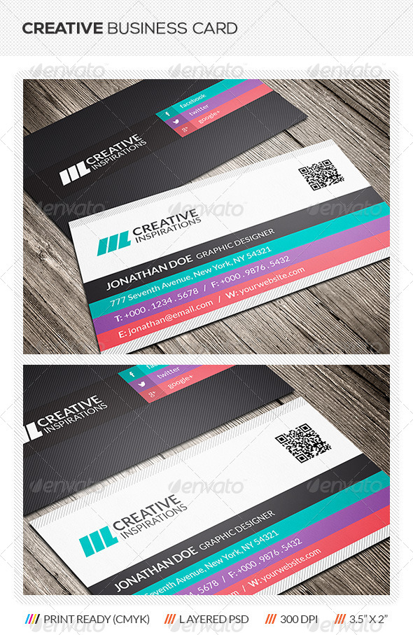 GraphicRiver Creative Business Card 6376518