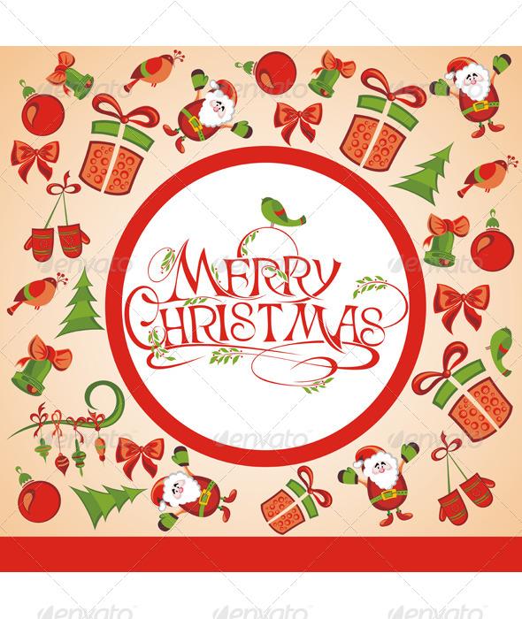 GraphicRiver Christmas Illustration 6376635