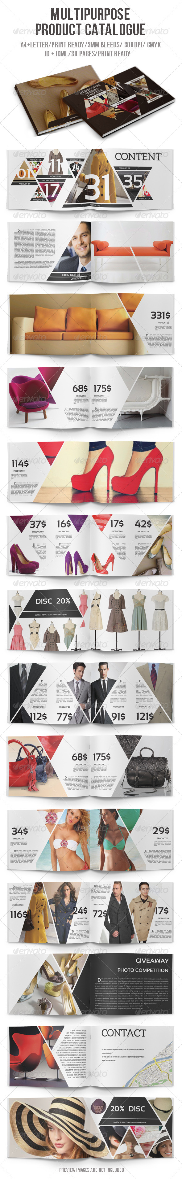 GraphicRiver Multipurpose Product Catalogue 6376793