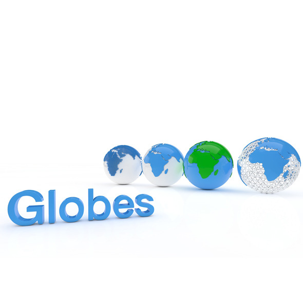 3DOcean Globes 6376855