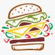 Hamburger Logo - GraphicRiver Item for Sale
