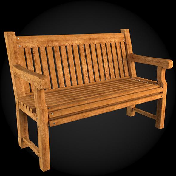 Garden Furniture 001 - 3DOcean Item for Sale
