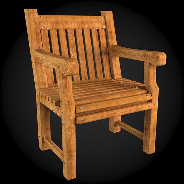 Garden Furniture 002 - 3DOcean Item for Sale