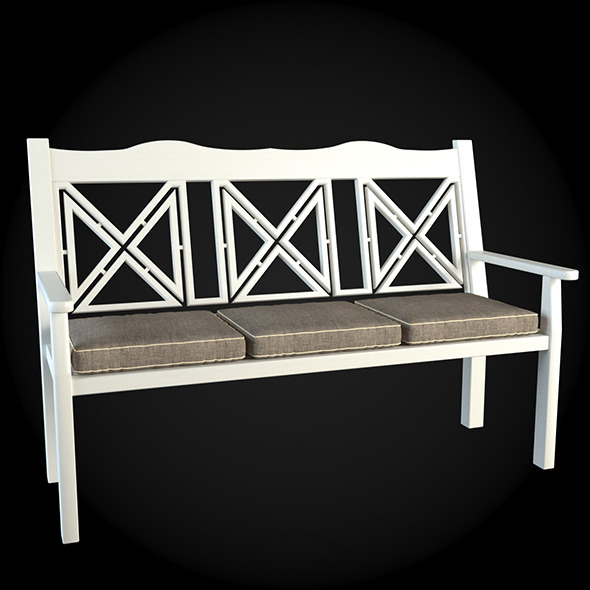 Garden Furniture 004 - 3DOcean Item for Sale