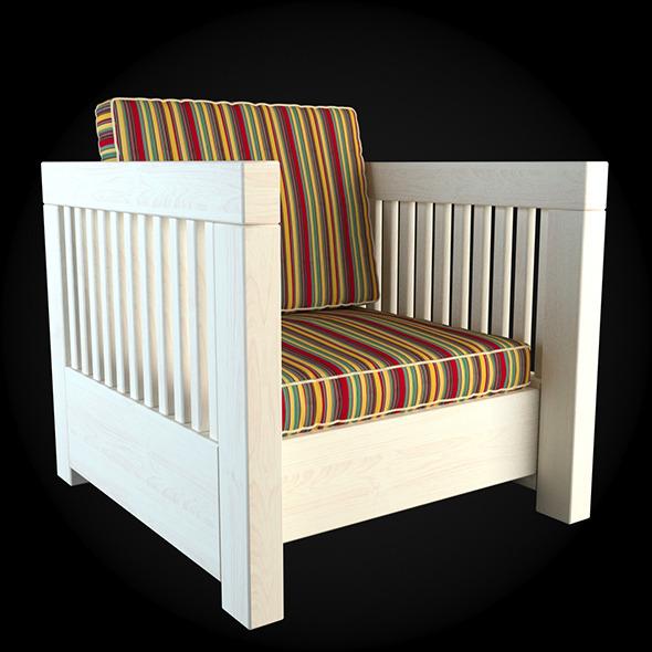 Garden Furniture 007 - 3DOcean Item for Sale