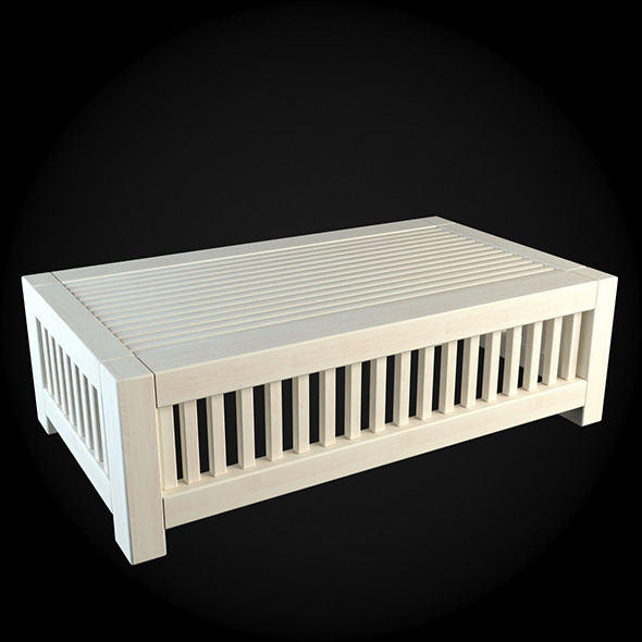 Garden Furniture 008 - 3DOcean Item for Sale