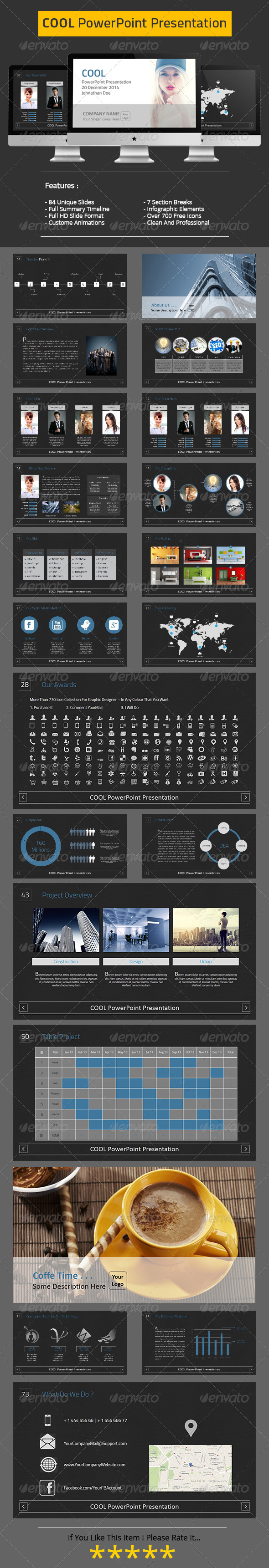 GraphicRiver COOL PowerPoint Presentation 6371127