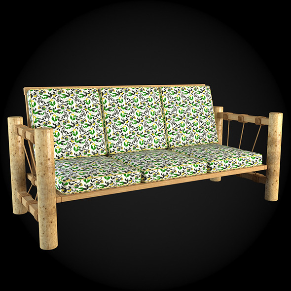 Garden Furniture 013 - 3DOcean Item for Sale