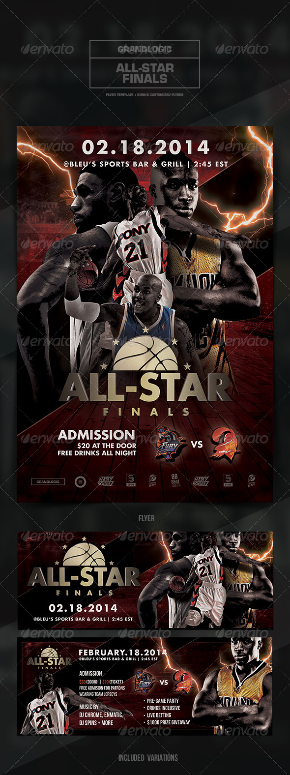 GraphicRiver Basketball Championship Flyer Poster 6278545