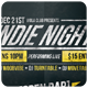 Indie Night - Flyer [Vol.17] - GraphicRiver Item for Sale