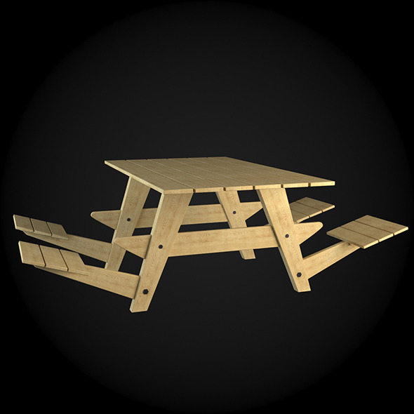 Garden Furniture 017 - 3DOcean Item for Sale