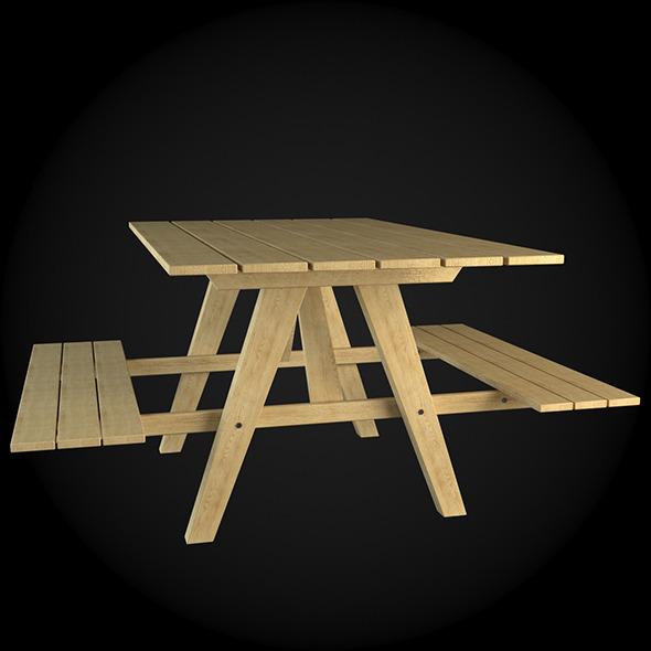 Garden Furniture 018 - 3DOcean Item for Sale