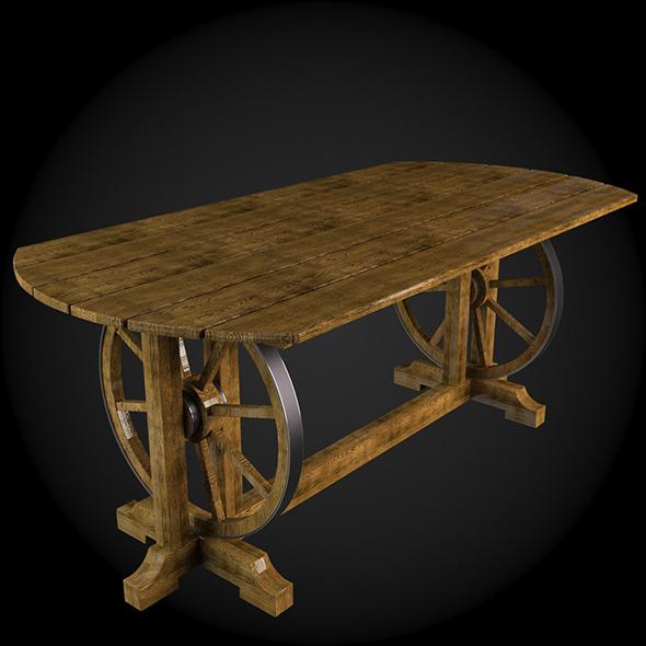 3DOcean Garden Furniture 021 6379214
