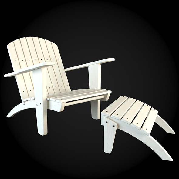Garden Furniture 022 - 3DOcean Item for Sale