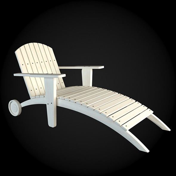 Garden Furniture 024 - 3DOcean Item for Sale