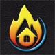 Fire House Logo - GraphicRiver Item for Sale