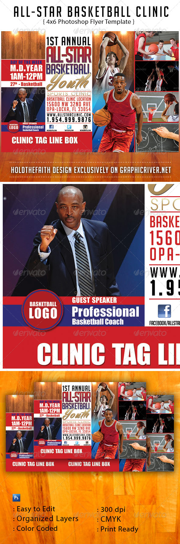GraphicRiver All-Star Basketball Clinic 6340781