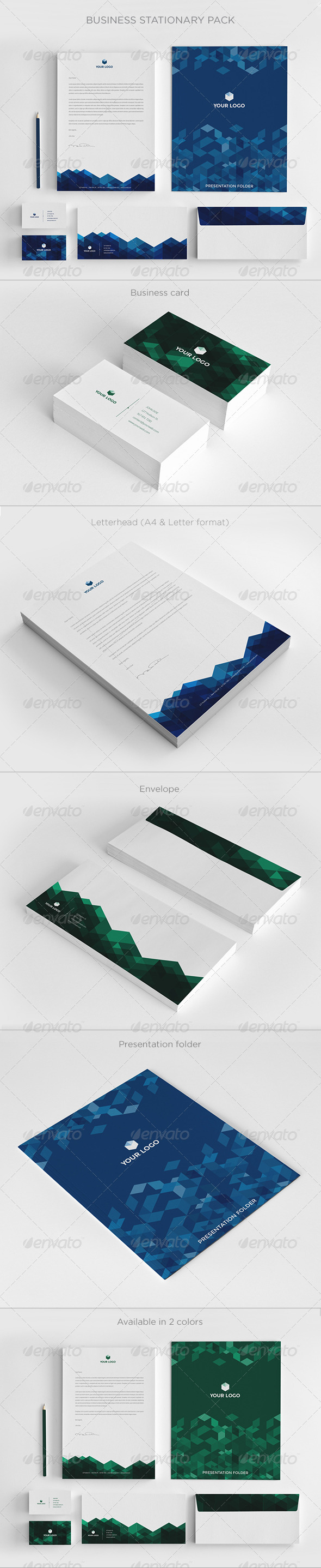 GraphicRiver Business Stationary Pack II 6380354