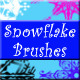 61 Snowflake Brushes - GraphicRiver Item for Sale