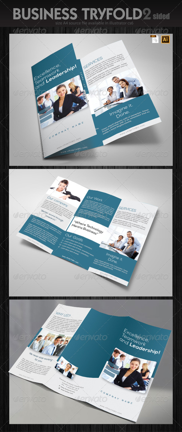 GraphicRiver Services Trifold Brochure 6380948