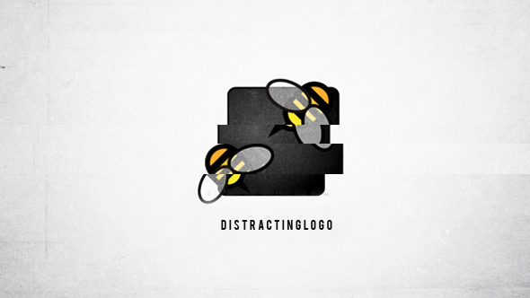 Distracting Logo