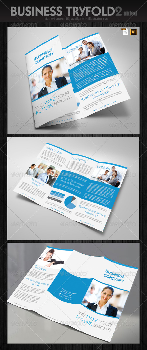 GraphicRiver Office Trifold Brochure 6381177