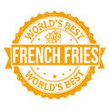 French fries stamp - PhotoDune Item for Sale