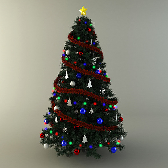 3DOcean Christmas Tree 6381852