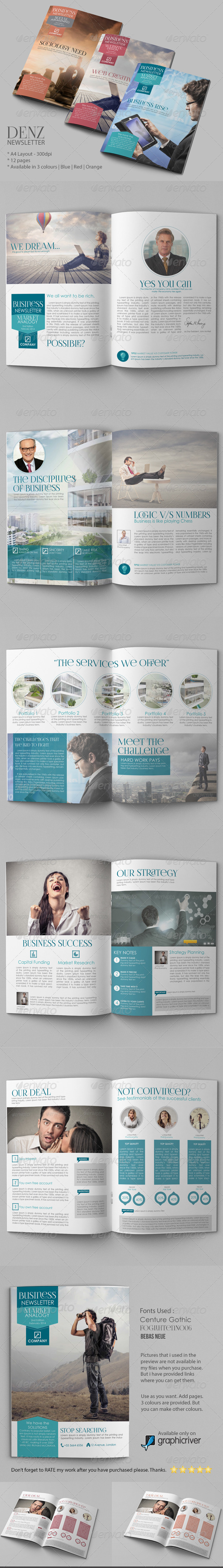 GraphicRiver Business Newsletter Vol IV 6382264