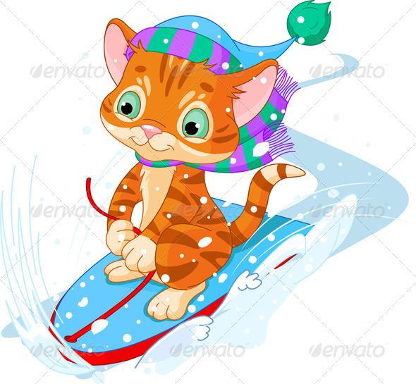 GraphicRiver Fast fun Kitten 6382324