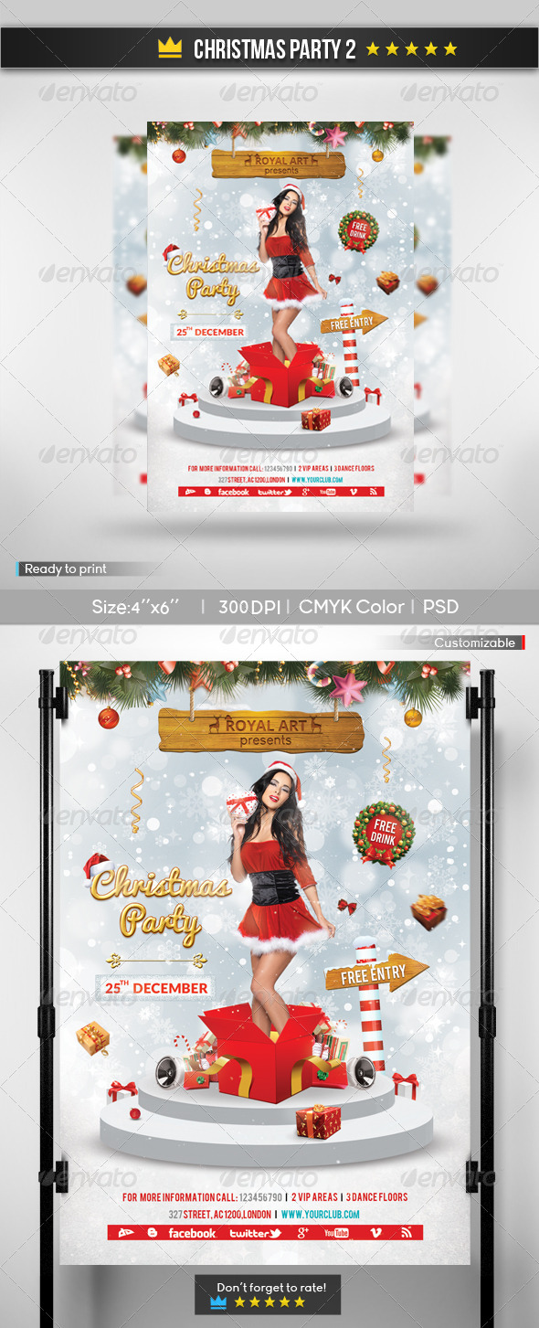 Christmas Party 2 - Holidays Events