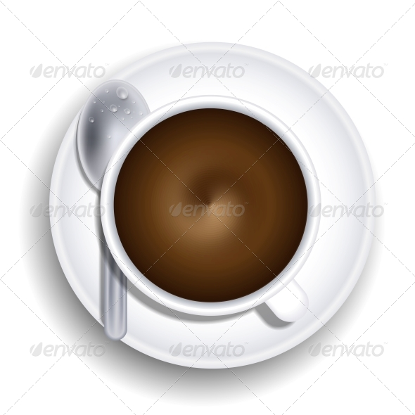 GraphicRiver Cup of Coffee with Spoon 6382403