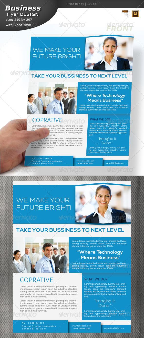 GraphicRiver Informational Flyer Design 6382510