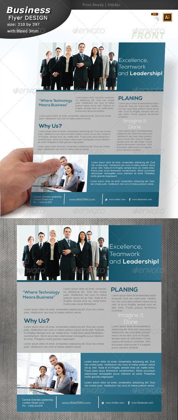 GraphicRiver Service Flyer Design 6382661