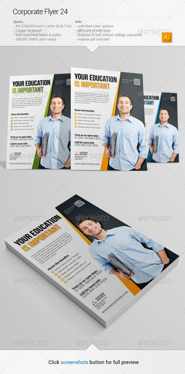 GraphicRiver Corporate Flyer 24 6382674