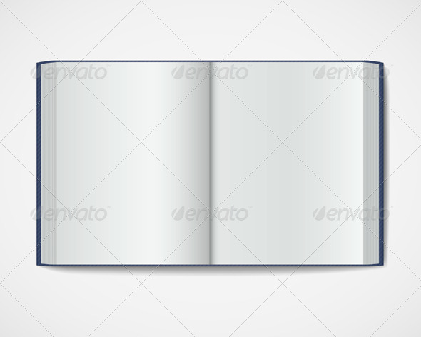 GraphicRiver Blank Open Book 6382684