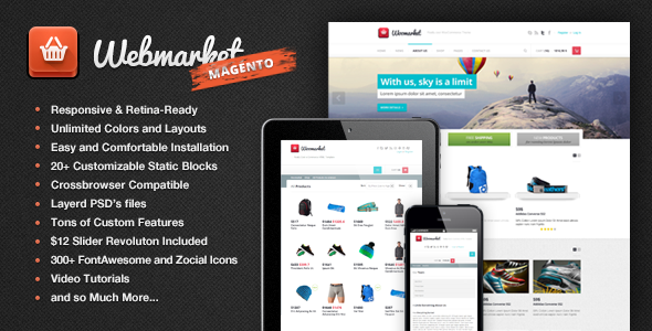 Webmarket - Magento Theme for Online Shop