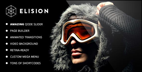 ThemeForest Elision Retina Multi-Purpose WordPress Theme 6382990