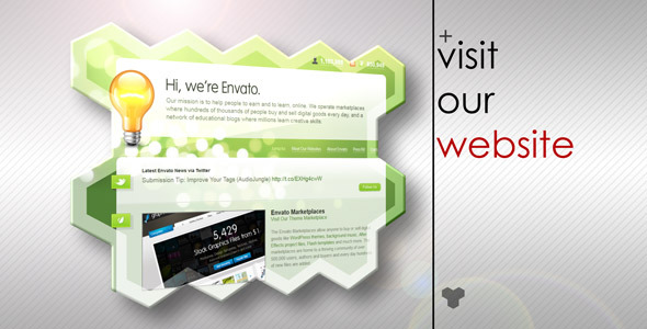 After Effects Project - VideoHive Clean Corporate Presentation 666044