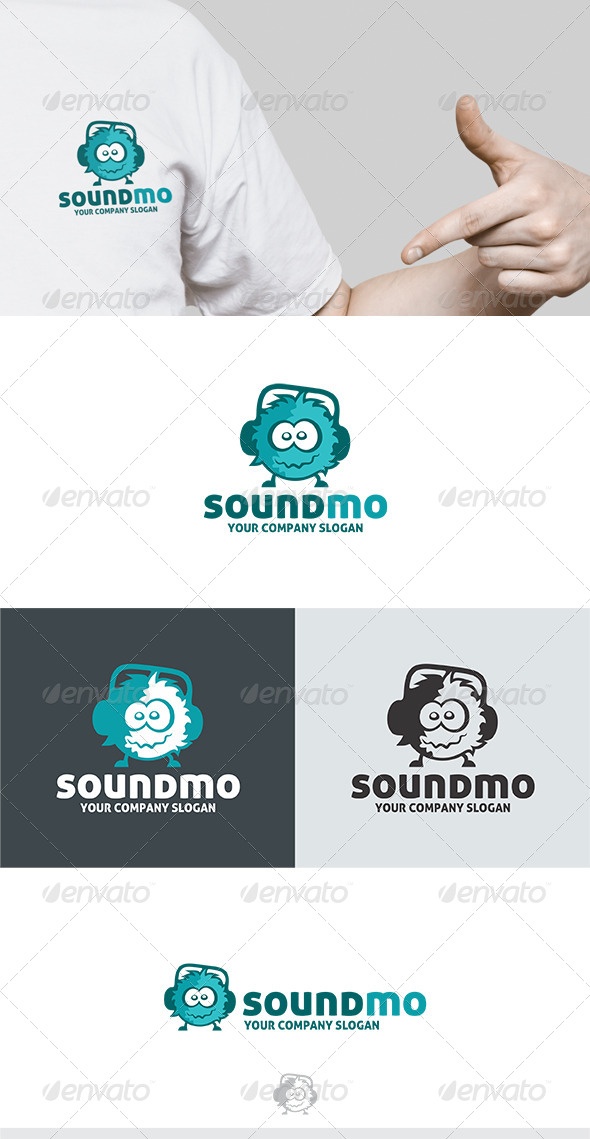 GraphicRiver Sound Mo Logo 6383362