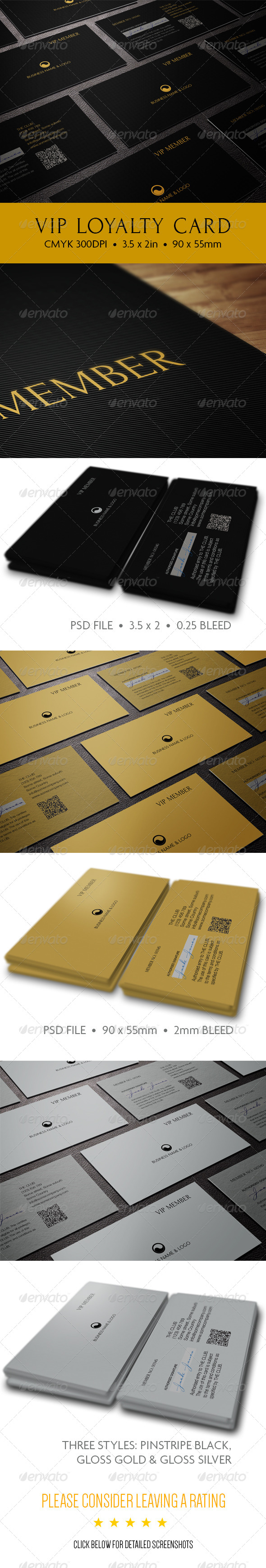 GraphicRiver The VIP Card 6342014