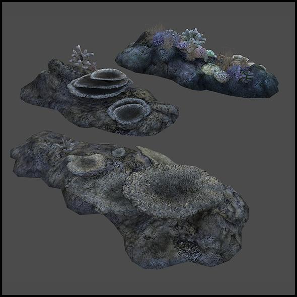 3DOcean Coral Reef 6383738