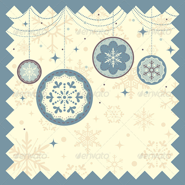 GraphicRiver Winter Christmas Background 6383997