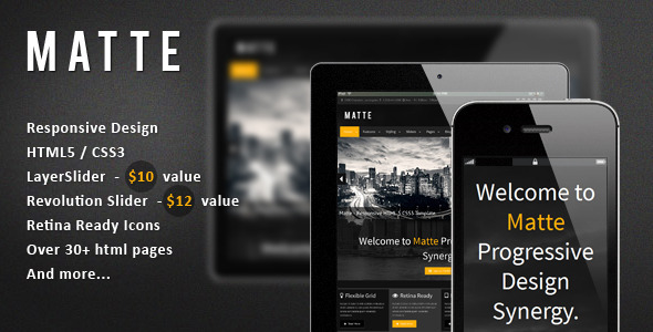 00 preview image.  large preview Vegas   Responsive HTML5 Theme (Entertainment)