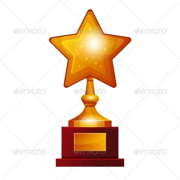 GraphicRiver Winner Golden Star 6384325