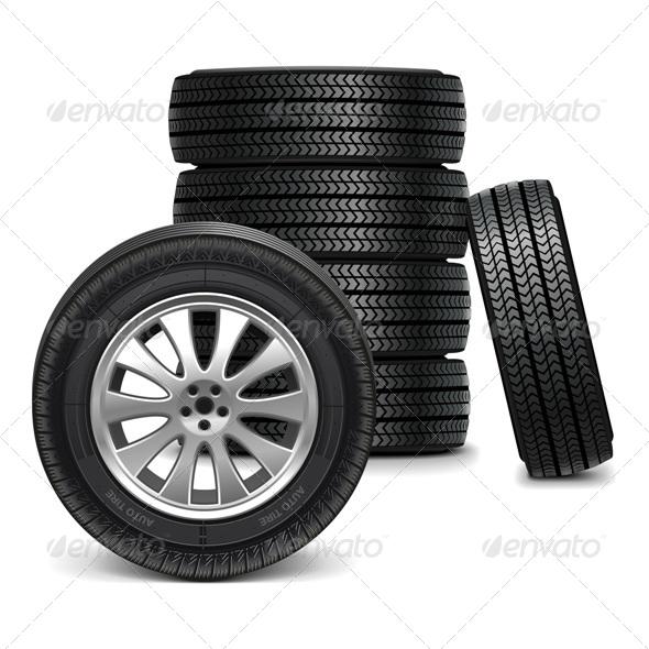 Vector Car Wheels